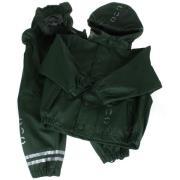 Regntøj fra Mikk-Line - Army grøn