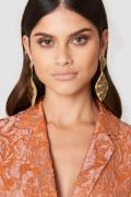Tranloev Melted Romb Earring - Gold