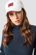 Calvin Klein J Monogram Cap W - White