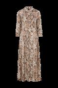 Maxikjole Sanima Long Shirt Dress
