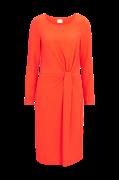 Kjole viSealo L/S Knot Dress