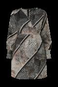 Kjole vmIsolde Stripe LS Short Dress Curve