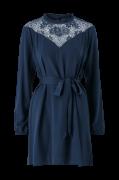Kjole viSuvita L/S Short Lace Dress