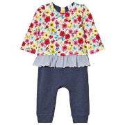 GAP Little Artist Triple-Layer One-Piece Multi Floral 0-3 mdr