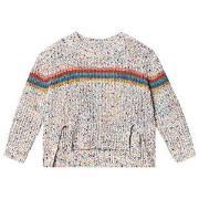 Stella McCartney Kids Multicolor Rainbow Sweater 2 years