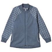 Joha Frosty Wool Zip Sweater Blue 90 cm (1,5-2 år)