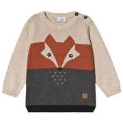 Hust&Claire Pilou Sweater Wheat 74 cm (6-9 mdr)