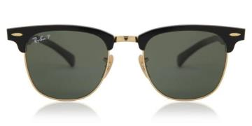 Ray-Ban RB3507 Clubmaster Aluminium Polarized Solbriller