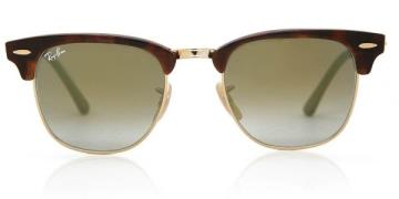 Ray-Ban RB3016 Clubmaster Flash Lenses Gradient Solbriller