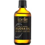 Loelle 100% Jojoba Oil ØKO 100 ml