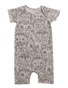 Owen Body Bodysuits Short-sleeved Multi/mønstret Soft Gallery